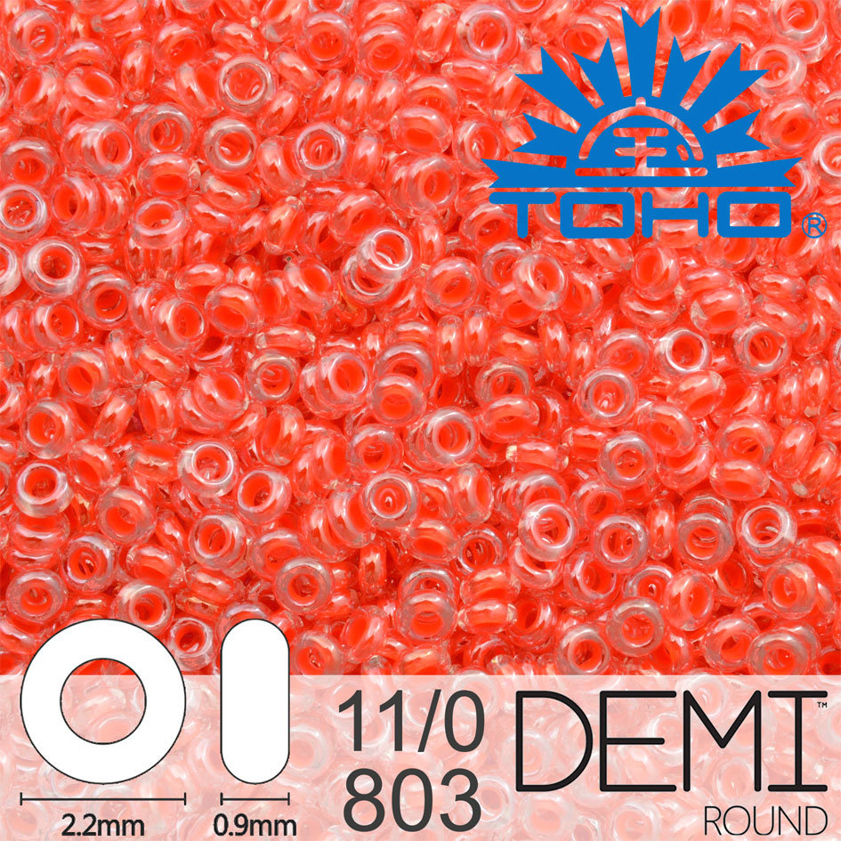 TOHO Demi Round 11-0 color 803