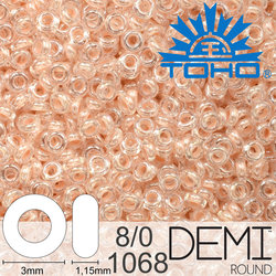 TOHO Demi Round 8-0 color 1068