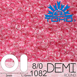 TOHO Demi Round 8-0 color 1082
