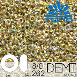 TOHO Demi Round 8-0 color 262