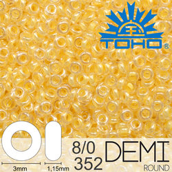 TOHO Demi Round 8-0 color 352