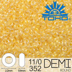 TOHO Demi Round 11-0 color 352