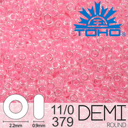 TOHO Demi Round 11-0 color 379