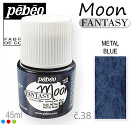 MOON Fantasy PEBEO 38 METAL BLUE