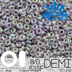 TOHO Demi Round 8-0 color 635F