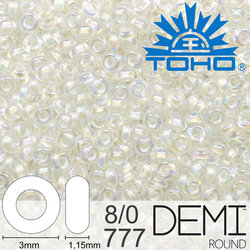TOHO Demi Round 8-0 color 777