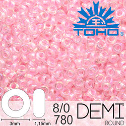 TOHO Demi Round 8-0 color 780
