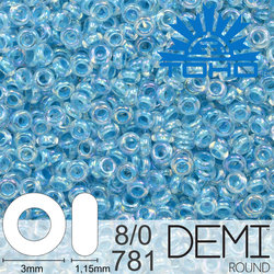 TOHO Demi Round 8-0 color 781