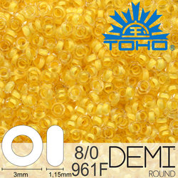 TOHO Demi Round 8-0 color 961F