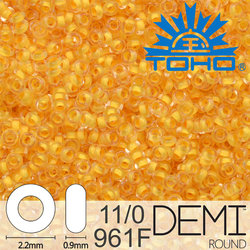 TOHO Demi Round 11-0 color 961F