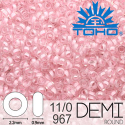 TOHO Demi Round 11-0 color 967