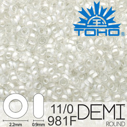 TOHO Demi Round 11-0 color 981F