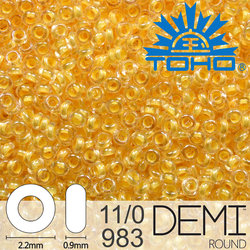 TOHO Demi Round 11-0 color 983