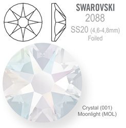 SWAROVSKI Foiled SS20 CRYSTAL MOONLIGHT