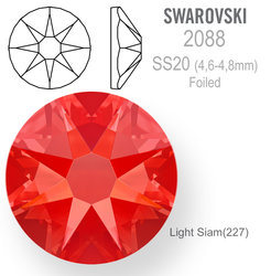 SWAROVSKI 2088 Foiled SS20 Light Siam