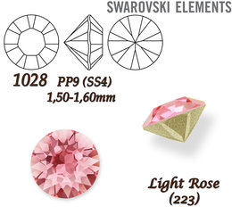 SWAROVSKI CHATON Stone 1028 PP9 LIGHT ROSE