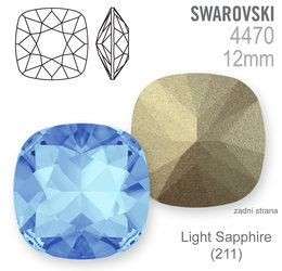 Swarovski Fancy Stone 4470 Light Sapphire 12mm