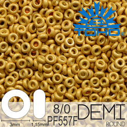 TOHO Demi Round 8-0 color PF557F