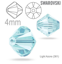 SwarovskiI 5328 XILION Bead Light Azore 4mm