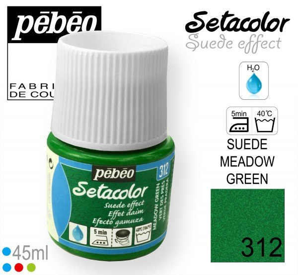 SETACOLOR SUEDE 312 MEADOW GREEN