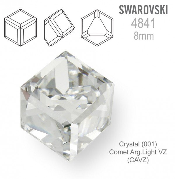 SWAROVSKI 4841 CRYSTAL Comet Arg Light  8mm