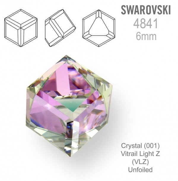 SWAROVSKI 4841 VITRAIL LIGHT 6mm