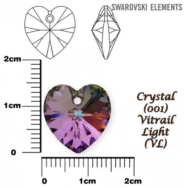 SWAROVSKI 6202 VITRAIL LIGHT 14x14mm