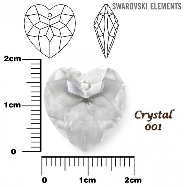 SWAROVSKI 6215 CRYSTAL 18mm