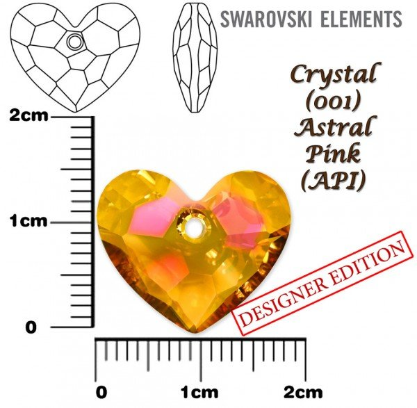 SWAROVSKI 6264 CRYSTAL ASTRAL PINK 18mm