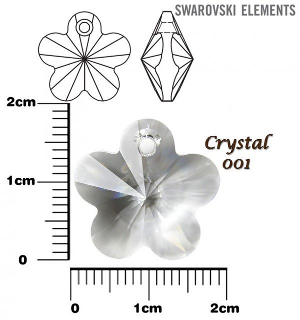 SWAROVSKI 6744 CRYSTAL 18mm