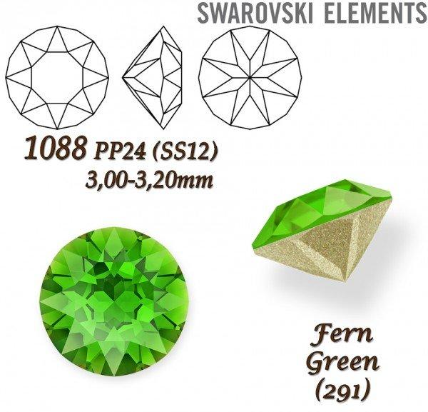 SWAROVSKI XIRIUS 1088 PP24 FERN GREEN