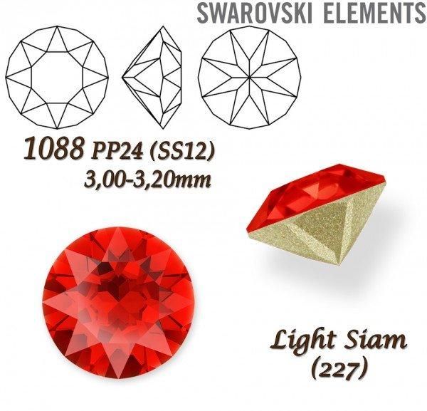 SWAROVSKI XIRIUS 1088 PP24 LIGHT SIAM
