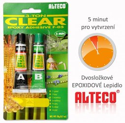 Lepidlo ALTECO EPOXY Clear  6g