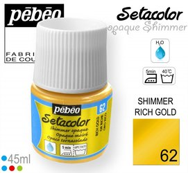 SETACOLOR OPAQUE SHIMMER 62 RICH GOLD