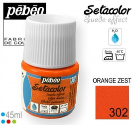 SETACOLOR SUEDE 302 ORANGE ZEST
