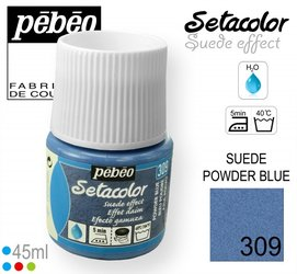 SETACOLOR SUEDE 309 POWDER BLUE