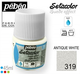 SETACOLOR SUEDE 319 ANTIQUE WHITE