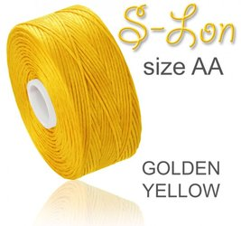 SUPERLON (S-LON) size AA GOLDEN YELLOW