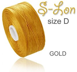 SUPERLON (S-LON) size D GOLD