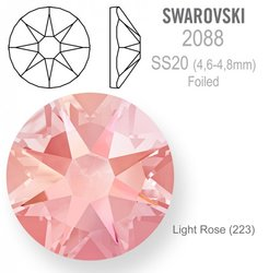 SWAROVSKI 2088 Foiled SS20 Light Rose