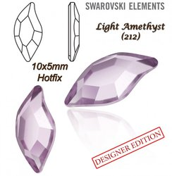 SWAROVSKI 2728 HOTFIX 10x5mm LIGHT AMETHYST