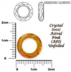 SWAROVSKI 4139  CRYSTAL ASTRAL PINK 14mm