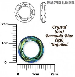SWAROVSKI 4139 BERMUDA BLUE 14mm