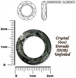 SWAROVSKI 4139 CRYSTAL DORADO  20mm
