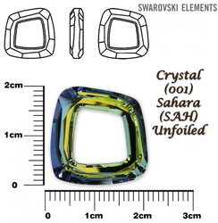 SWAROVSKI 4437 CRYSTAL SAHARA  20mm