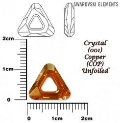 SWAROVSKI 4737 COPPER 14mm