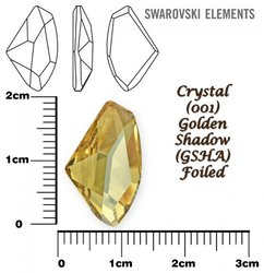 SWAROVSKI 4756 GOLDEN SHADOW 19x11,5mm