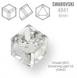SWAROVSKI 4841 CRYSTAL Comet Arg Light 6mm