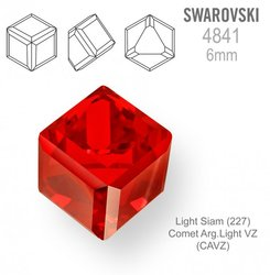 SWAROVSKI 4841 LIGHT SIAM 6mm