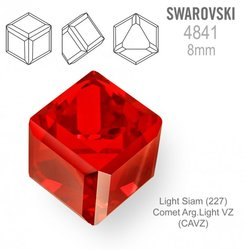 SWAROVSKI 4841 LIGHT SIAM 8mm